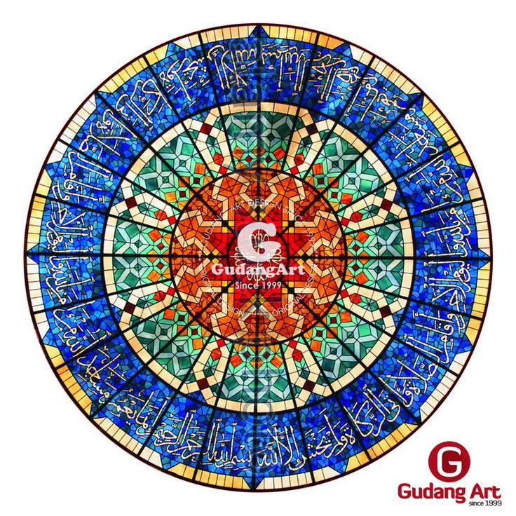 Dekoratif Kaca Patri Untuk Masjid
