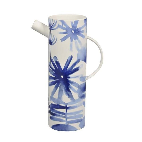 Blue Flower Spout Jug www.koop.co.nz