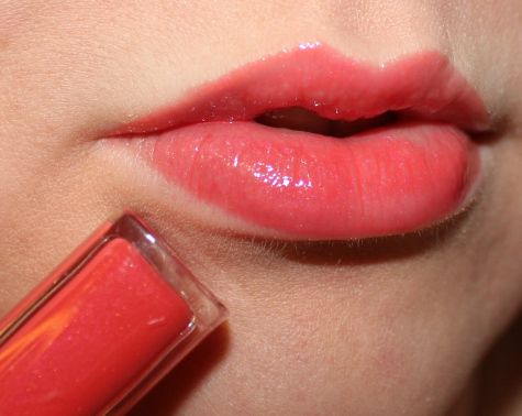 Revlon Color Burst Lipgloss in Papaya