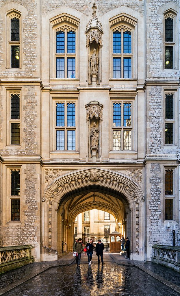The Maughan Library ~ is the main research library of King's College London, forming part of the Strand Campus. It is housed by a 19th-century neo-Gothic building in the City of London. It is a Grade II listed building.