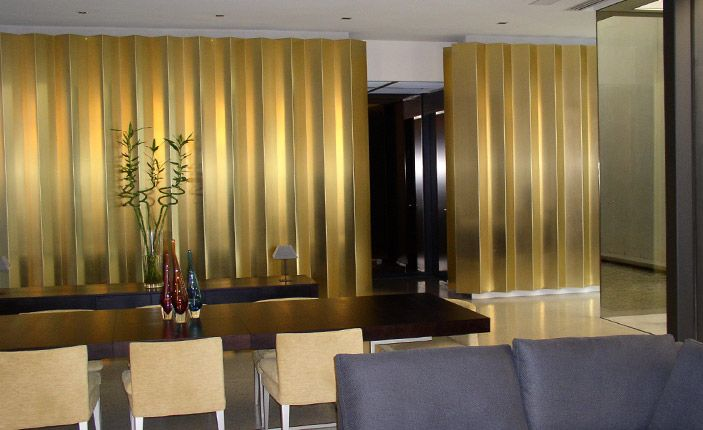 Bronzeworks - bronze panels - Private Residence -