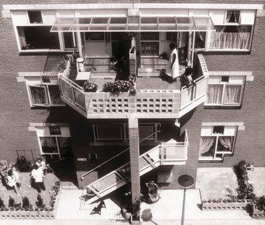 Haarlemmer Houttuinen Housing By Herman Hertzberger Team