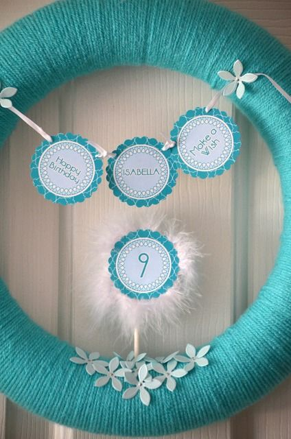 Birthday Wreath :)
