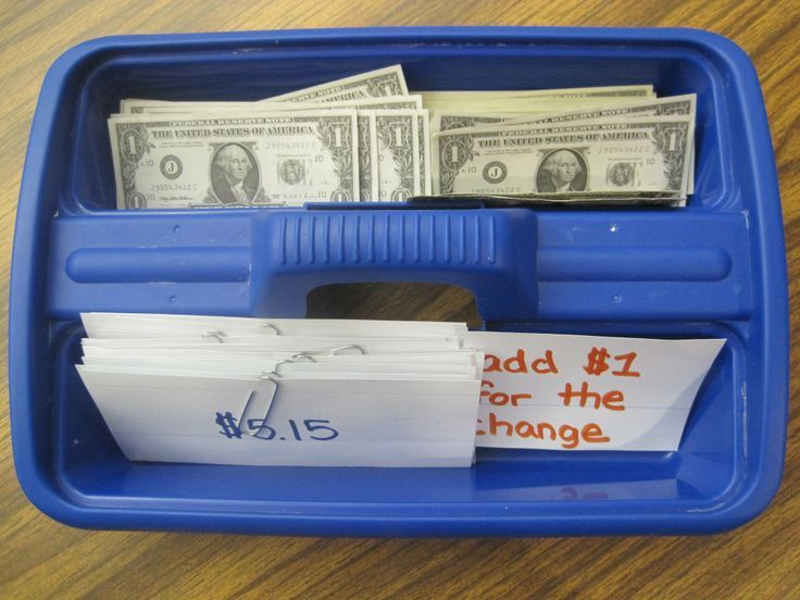 A math task box for older students!