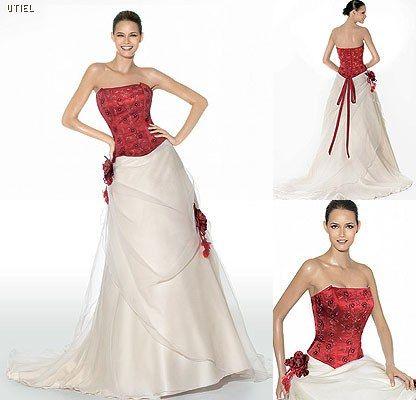 Abiti da sposa rossi - Pronovias