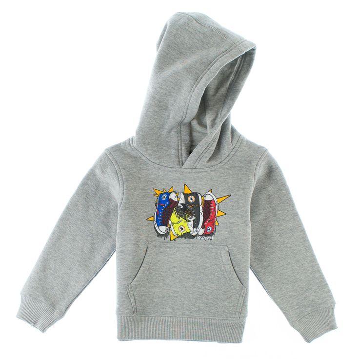 Converse hoodie for smågutter.