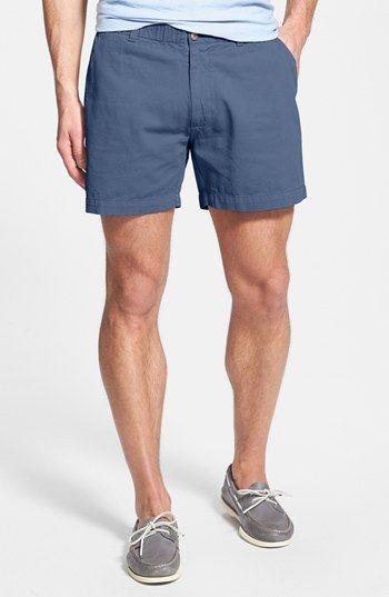 'Snappers' Vintage Washed Elastic Waistband Shorts