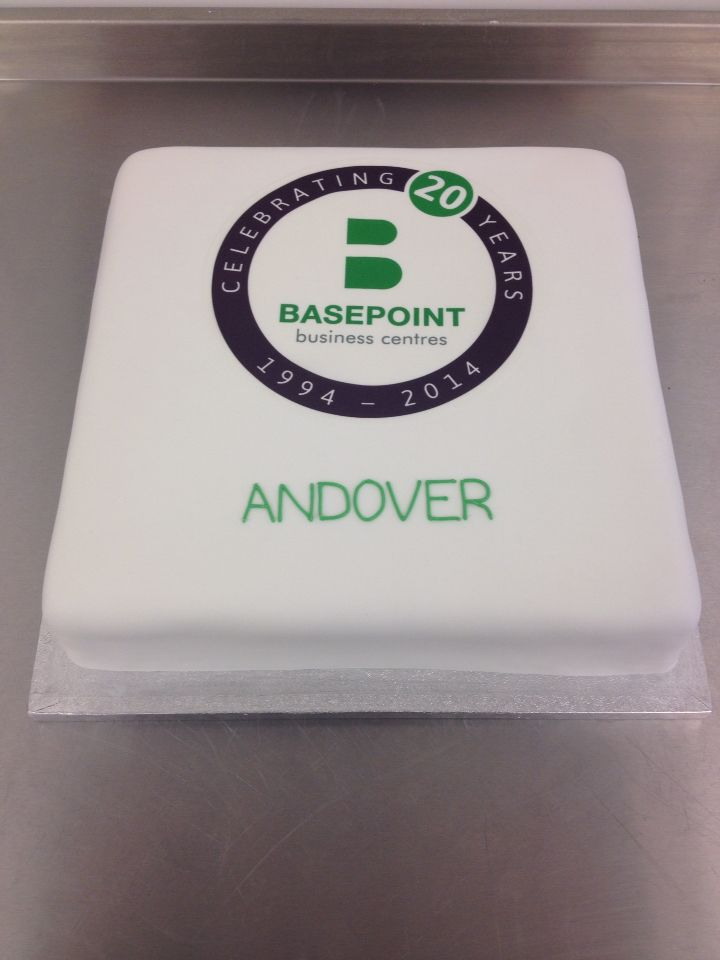 20th anniversary cake for Basepoint