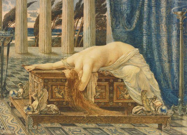 Walter Crane (1845-1915), Pandora - 1885
