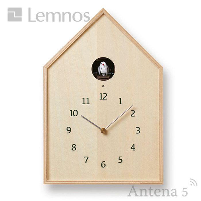 《全2色》LemnosBirdhouseClockカッコー時計バードハウスクロック