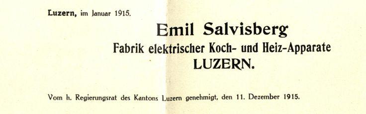 Gründungsdokument der Salvis