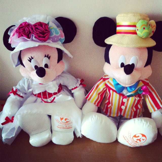 I Love You More Than Quotes: Mary Poppins Minnie & Bert Mickey