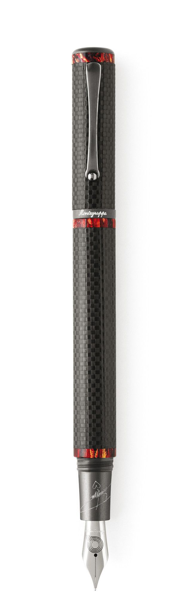 Quincy Jones Fountain Pen - Carbon Fiber