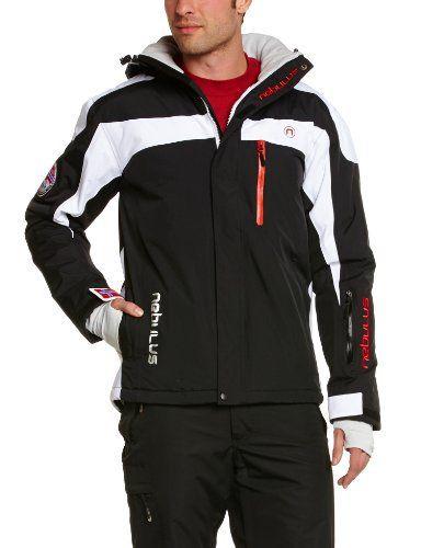Nebulus Rocket Veste de ski homme Noir FR : L (Taille Fabricant : L): Tweet Nebulus Rocket – Blouson de ski homme, colonne d'eau 10000 mm,…