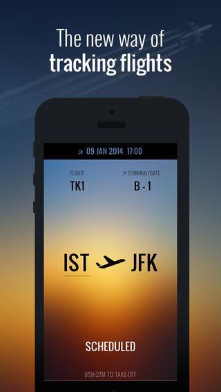 Flight - Live Status & Weather InnovationBox 비행시간을 알려주는 항공 어플 비행기 시간