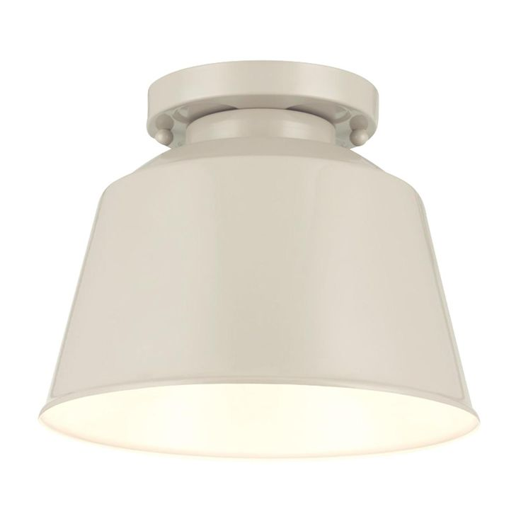 Soft Industrial Outdoor Ceiling Light