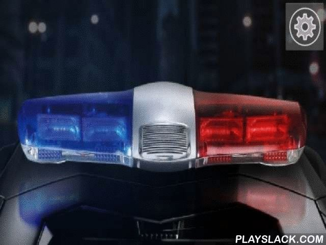 Police Siren: Light & Sound  Android App - playslack.com , Police siren: Light & sound - a police siren on your screen! Live wallpapers have practical sound effects, closed lights and motion graphics rate settings.