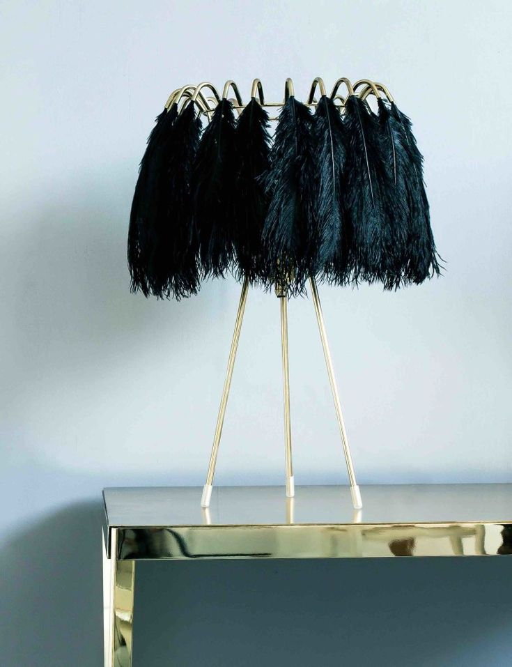 Black Feathers Light by Mineheart lifestyle low res
