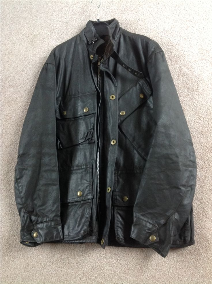 1950's barbour motorcycle jacket. Wonder how much it's worth