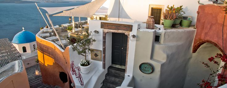 Red Bicycle restaurant - Oia, Santorini.