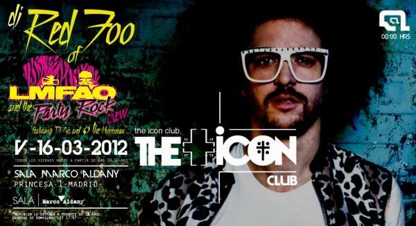 dj red zoo de LMFAO pinchará en la Marco Aldany antes del concierto en Madrid