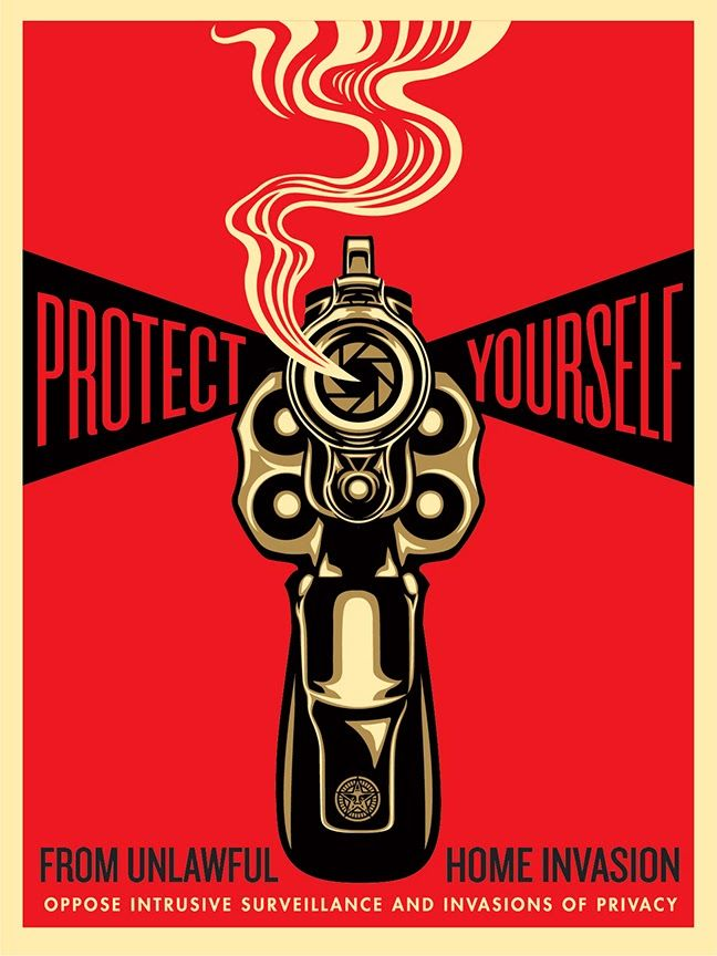 (How Many Are?)  Shepard Fairey ~Repinned Via Suzanne Laykin