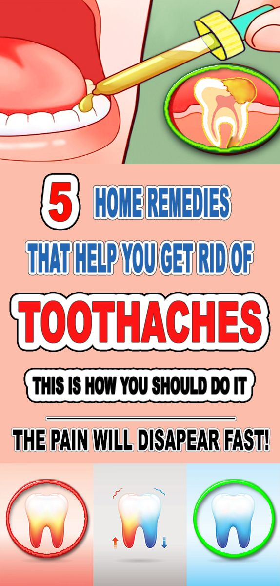 Home Remedy To Get Rid Of Toothaches Health Natural