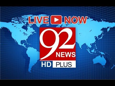 92NewsHD Live, Pakistan's first HD Plus news channel brings