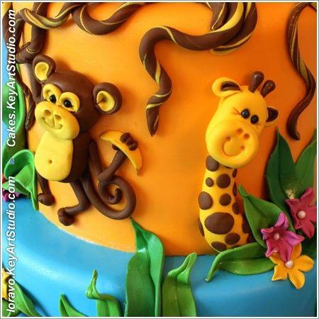 Торт джунгли 1
