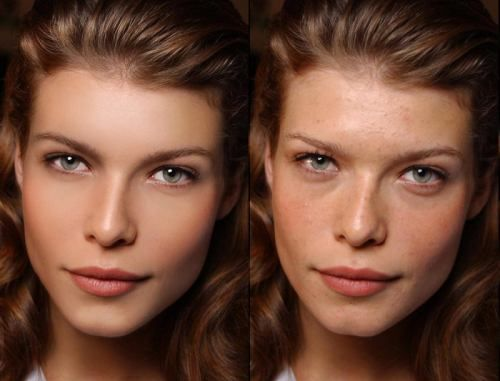 Perfection is never real: 60 Photoshop Before-and-Afters fake beauty unattainable impossible standard