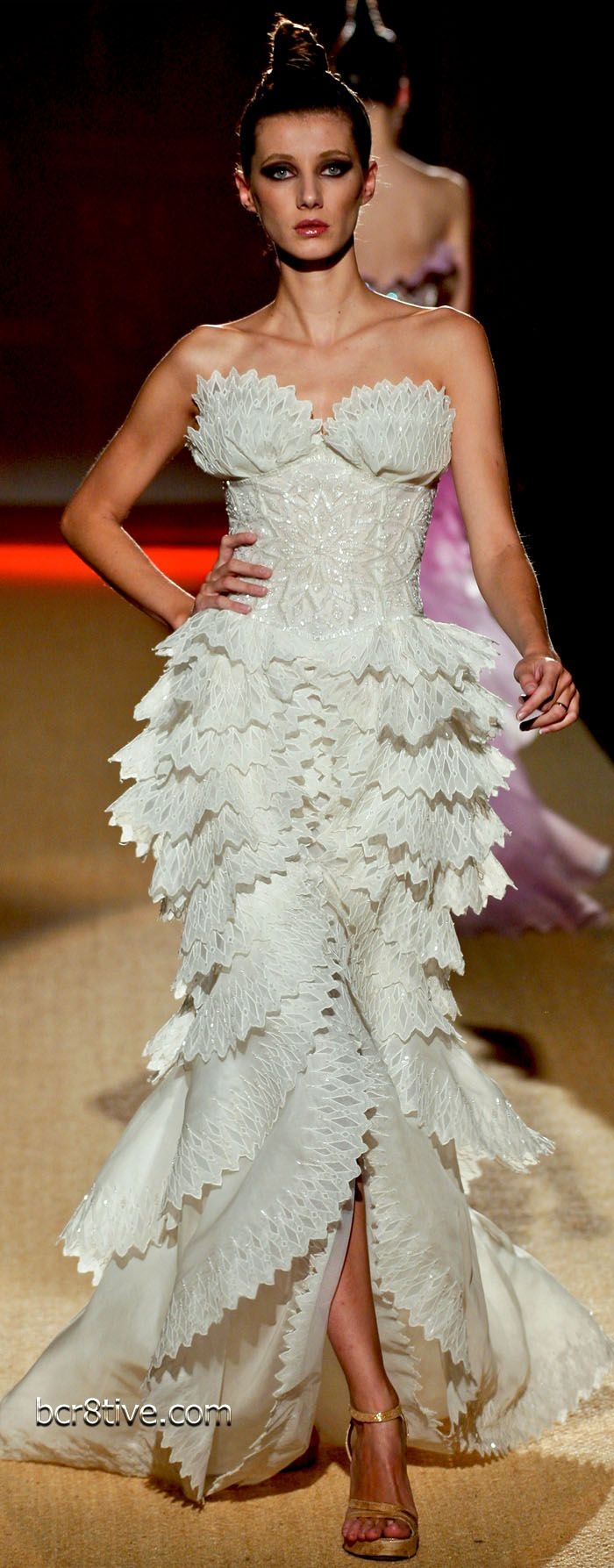 My reaction when I first saw this: Holy crap! Fausto Sarli Couture - Spring Summer 2009