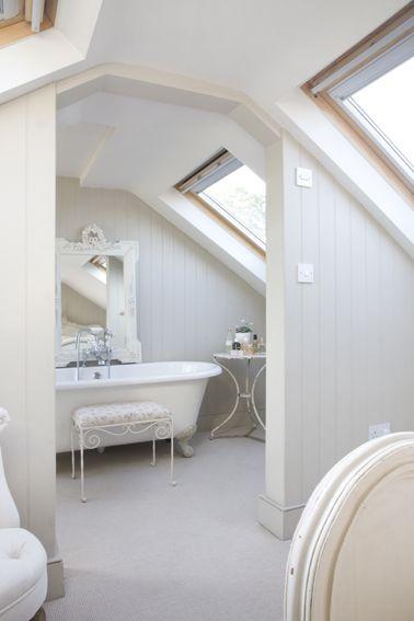 Loft Bathroom, nice sense of space