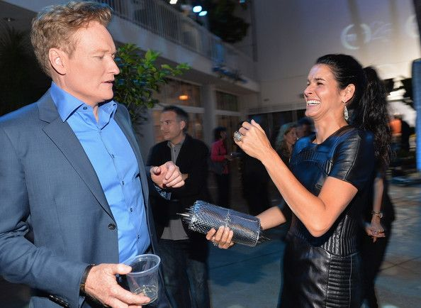 Angie Harmon - Inside TNT's 25th Anniversary Party