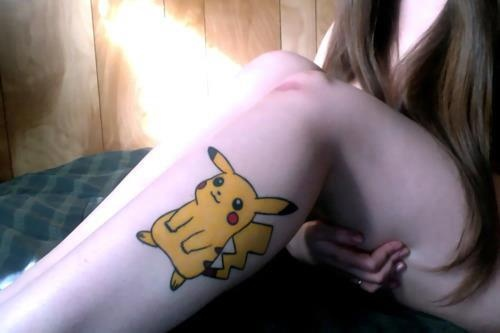 Awesome #Pikachu #Pokemon tattoo - Best of #Videogames