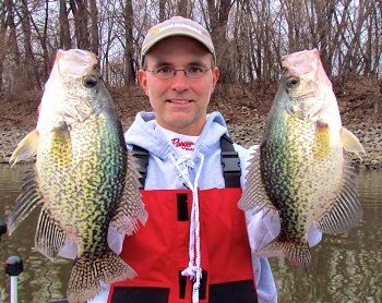 Catch More Cold-Water Crappies this Spring - As winter fades slowly into spring, crappies and other panfish begin a predictable transition from thermally stable, deep water basins towards warming shallows ... Lowrance Humminbird https://itunes.apple.com/us/app/id542238652