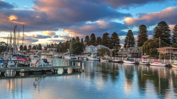 Aus best holidays towns - Port Fairy, Victoria: A jewel of the Great Ocean Road, with beaches, parks and fabulous eating.