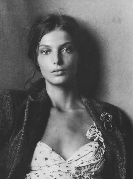 Daria Werbowy is a Ukrainian Canadian model. She is perhaps best known as a spokesperson for the French beauty brand Lancôme. Wikipedia from Iryna with love
