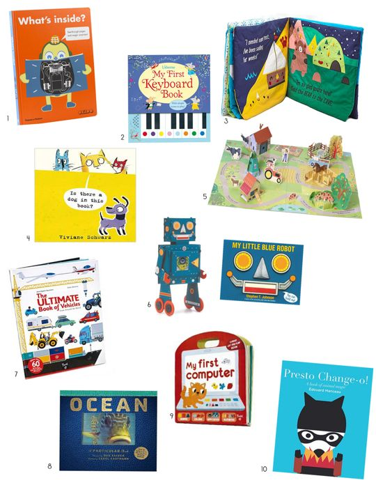 Knock-Your-Socks-Off, Interactive Children's Books — Holiday Gift Guide from Apartment Therapy
