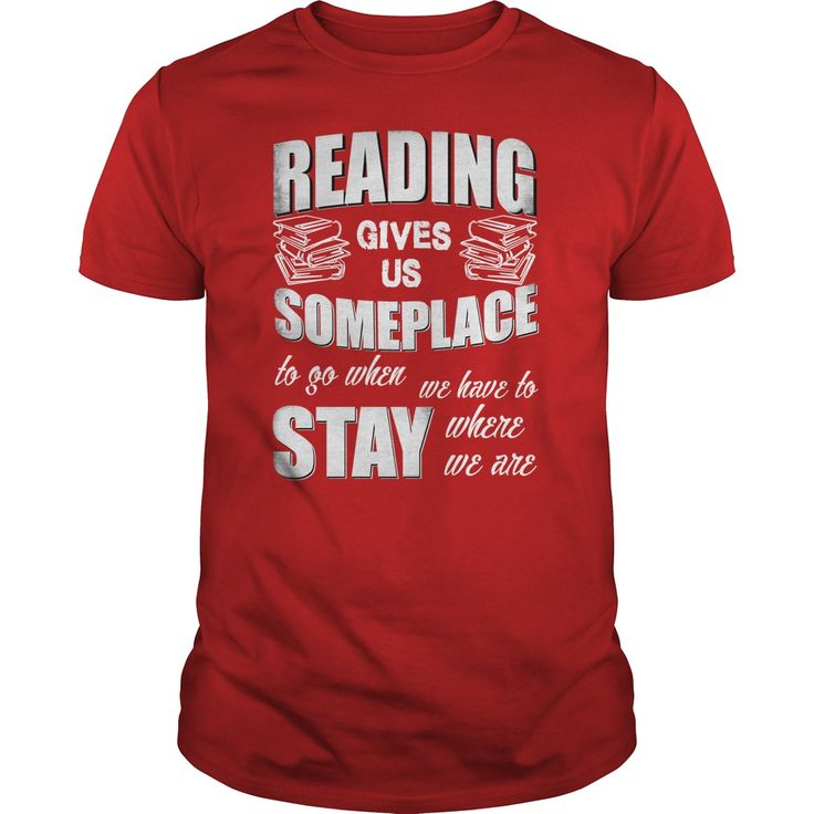 Reading gives us someplace T-Shirts, Hoodies. VIEW DETAIL ==► Funny Tee Shirts