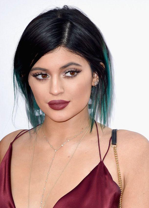 Kylie Jenner bold lips