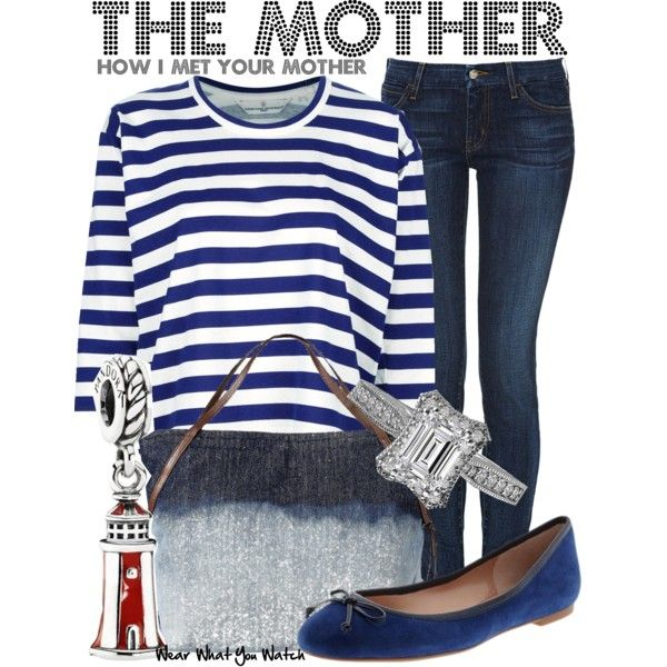 Inspired by Cristin Milioti as The Mother on How I Met Your Mother.