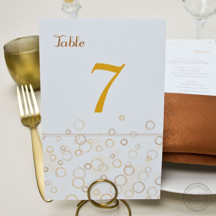 wedding invitations east london south africa%0A Bring the fun of bubbly to your wedding reception with these champagne  inspired menu cards