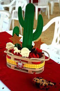 Decoración Fiesta Vaquera