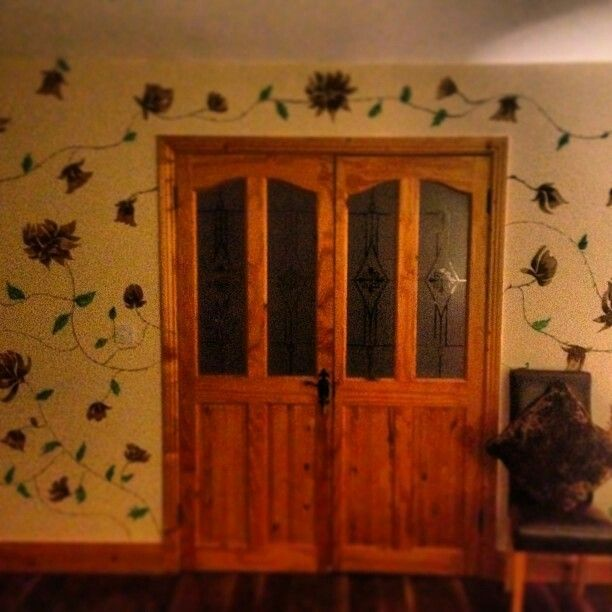 My hand painted wall mural