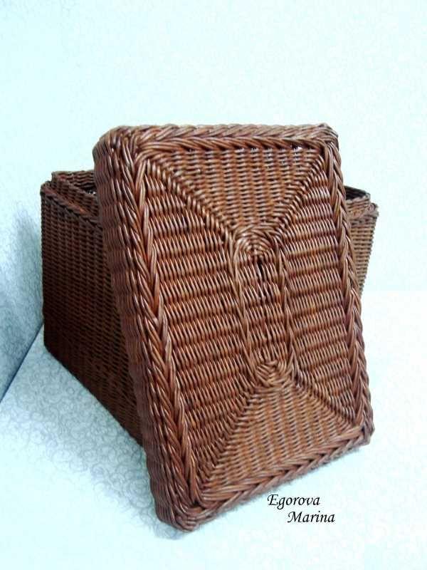 Тема: плетенки от марины (48/53) - Плетение из газет и другие рукоделия - Плетение из газет