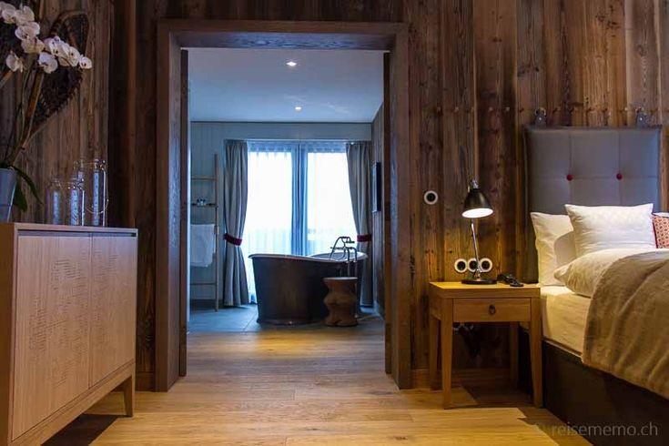 Löwen-Suite mit freistehender Badewanne und Sauna, Hotel Löwen in Schruns