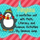 Penguins Math and Literacy Fun Best Seller 8 weeks in a row! Have fun learning all about Penguins while teaching a variety of literacy and math ski...
