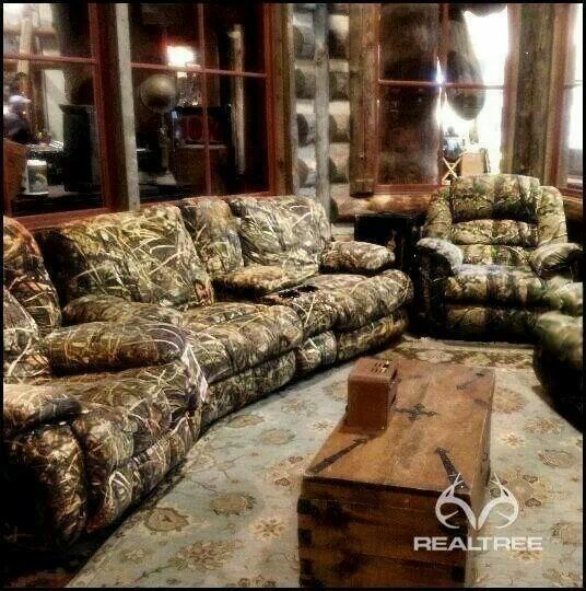 Realtree Camo Furniture Living Room Pinterest Furniture Camo Furnitur