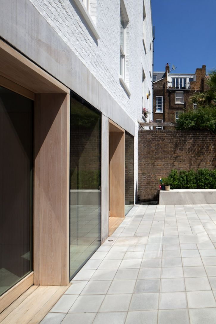 Timber inlay fitzroy road by Duggan Morris Architects