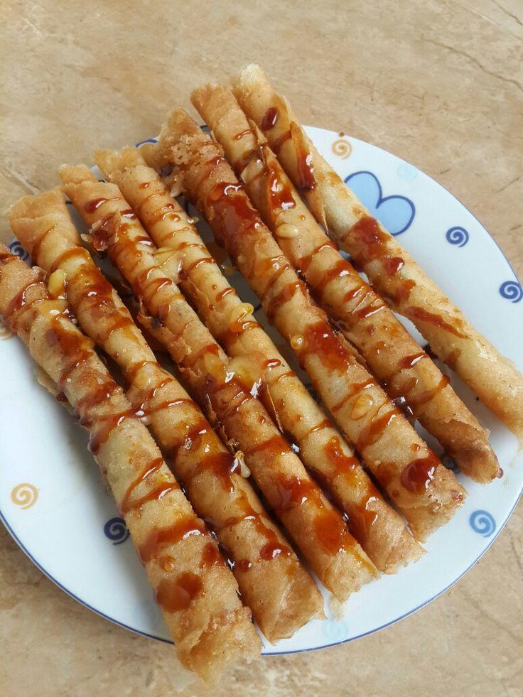 Pisang Roll Crispy Caramel
